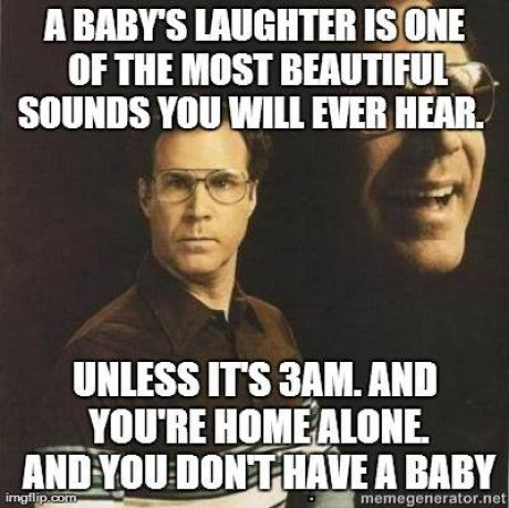 A babys laughter